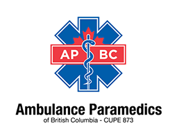 Ambulance Paramedics of British Columbia Logo